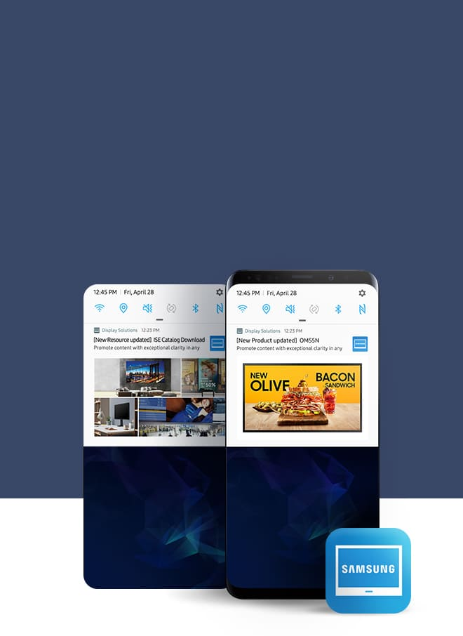 Main | Samsung Display Solutions