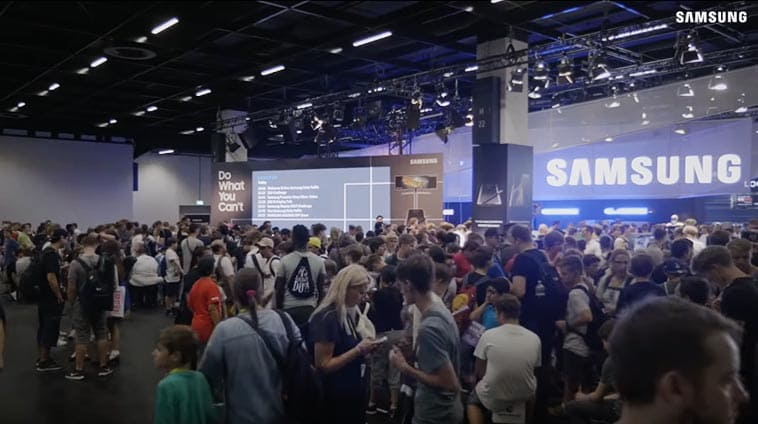 Highlights from Samsung X Gamescom2018