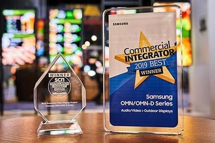 Samsung Recognized with Three Product Awards and One Global Excellence Award at InfoComm 2019