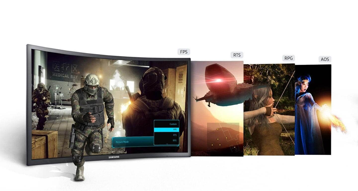 Every game looks its best with Pre-set Display Game Modes