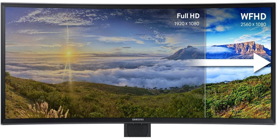 Even wider than the previous FHD, the ultra-wide panoramic display creates a more immersive viewing experience