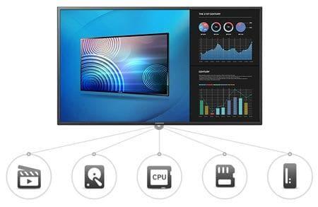 SAMSUNG ME-C Series 40inc Edge-Lit LED Display