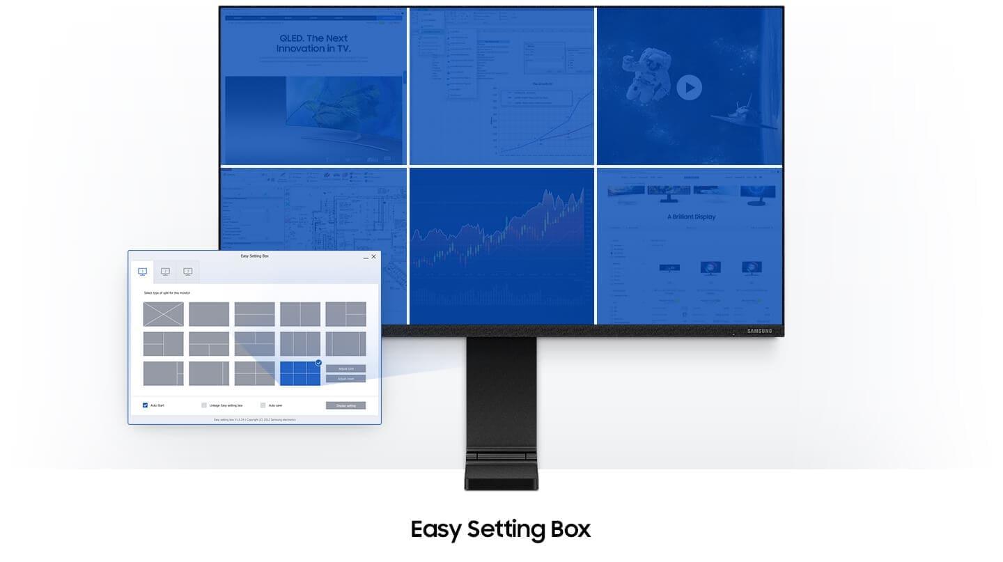 Easy Setting box