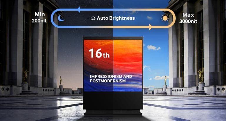Samsung OH46D | Outdoor Signage Display TV | KniTec