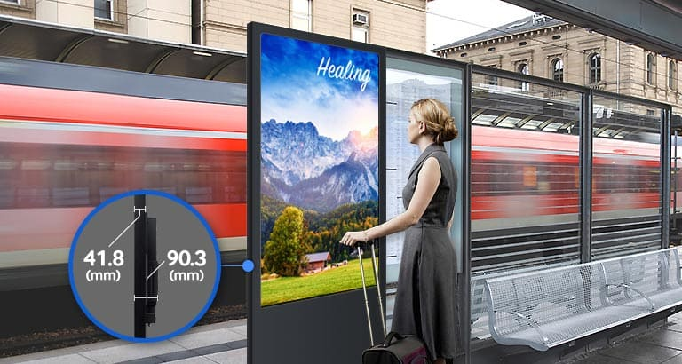 OH55D SMART Signage Samsung Display Solutions