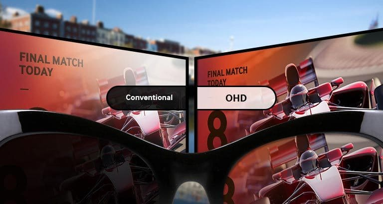 Eliminate eyewear display blindness and convey messaging optimally to virtually any viewer