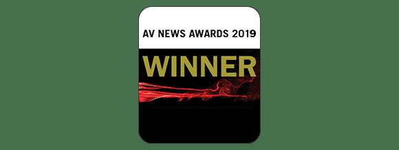 AV NEWS AWARDS 2019 WINNER