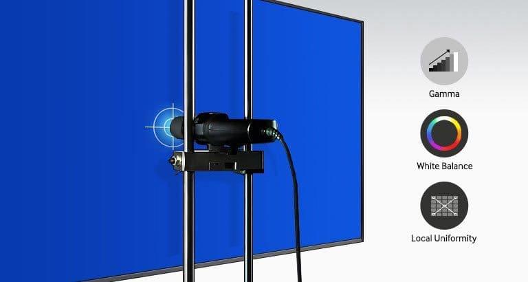 Showcase Superior Picture Quality through Advanced Color Calibration
