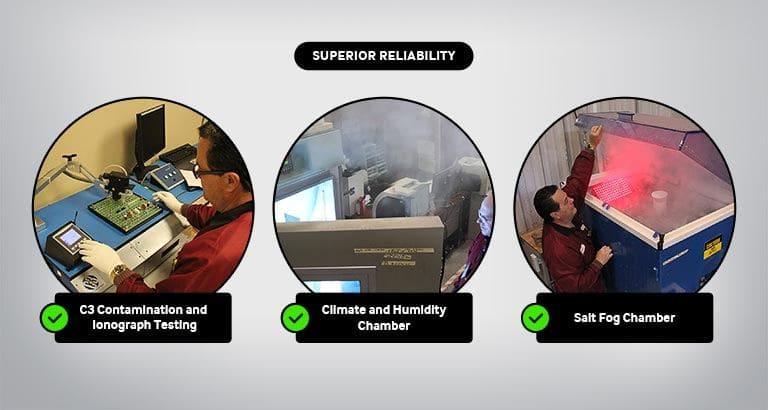 Superior Reliabilty