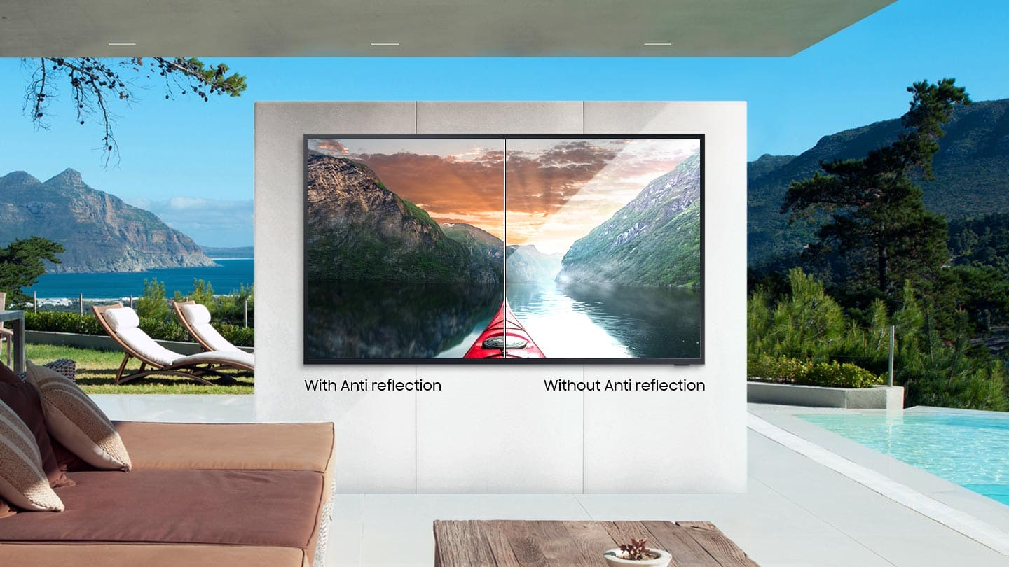 Samsung BH55T Bright and brilliant - 4K QLED outdoor TV image 2