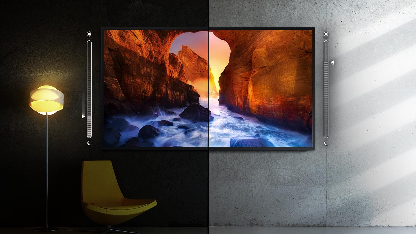 Samsung BH55T Bright and brilliant - 4K QLED outdoor TV image 3