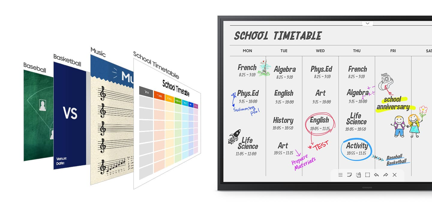 Varied formats for any classroom needs 1