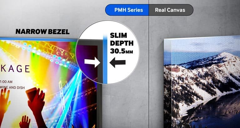 Durable premium displays optimize operations and message quality in any environment