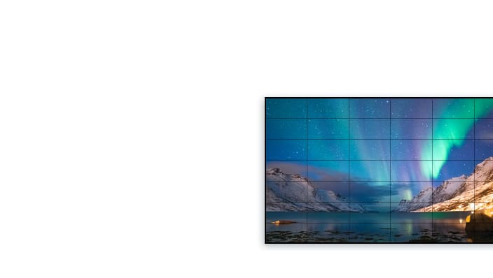 Samsung video wall and led signage configurator
