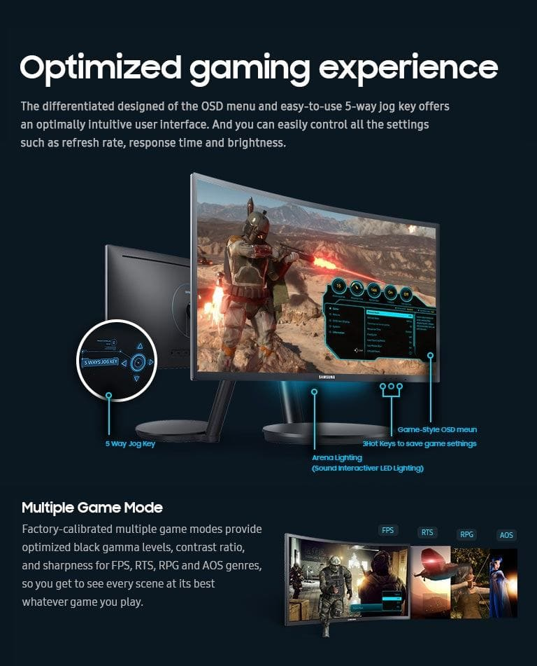 Optimized gaming experience