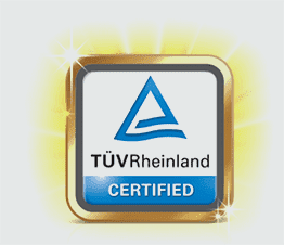 Image of Eye comfort validation by TUV Rheinland
