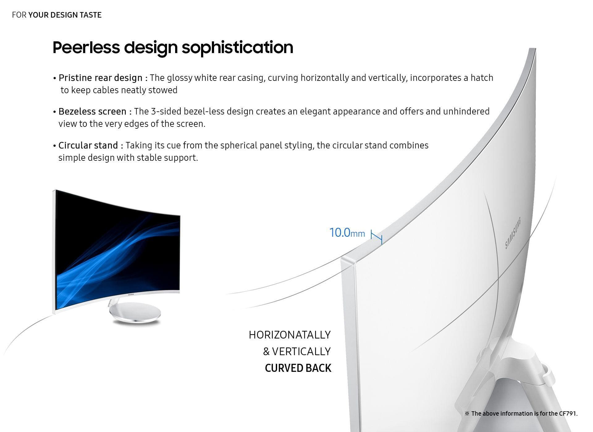 Peerless design sophistication