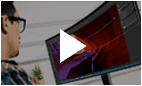 Video image titled by 'Why Samsung Curved Monitor'.