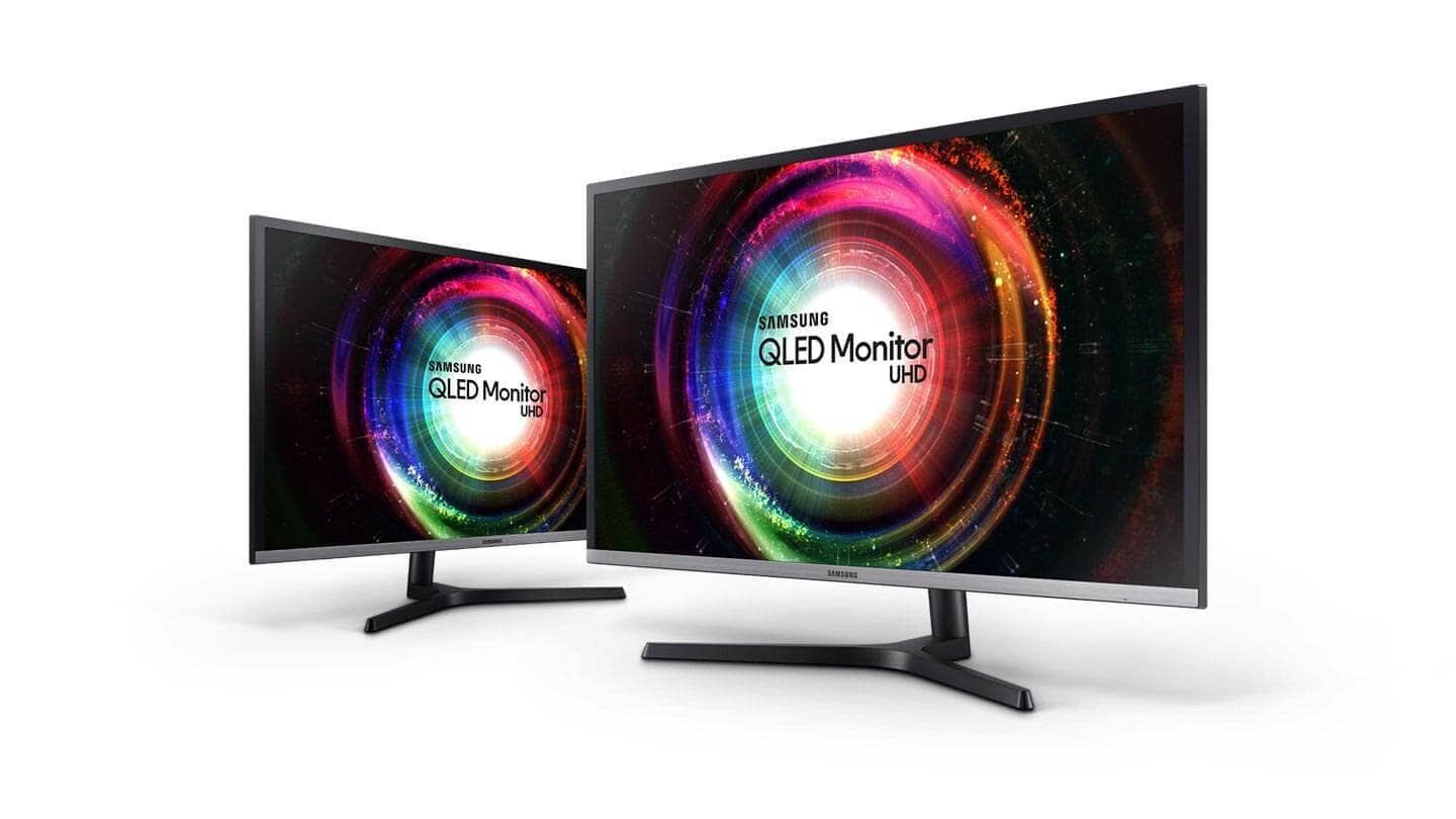 This image shows UHD Monitor UH85 32""