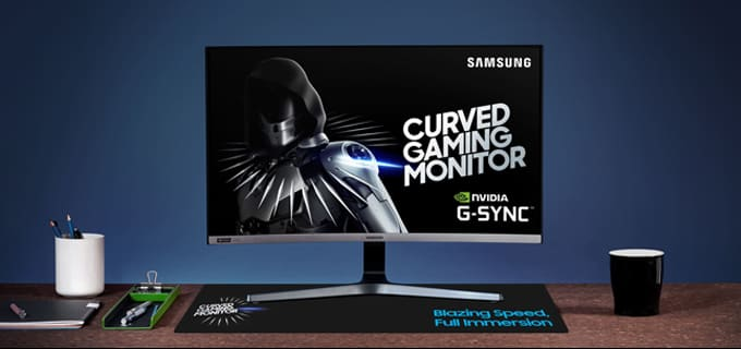 Curved Gaming Monitor CRG5