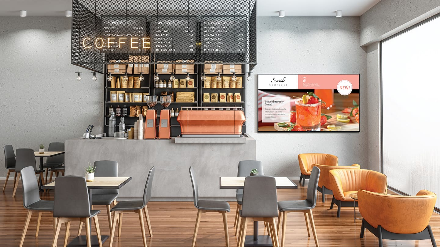 Solution for a wide range of business needs - cafes and restaurants
