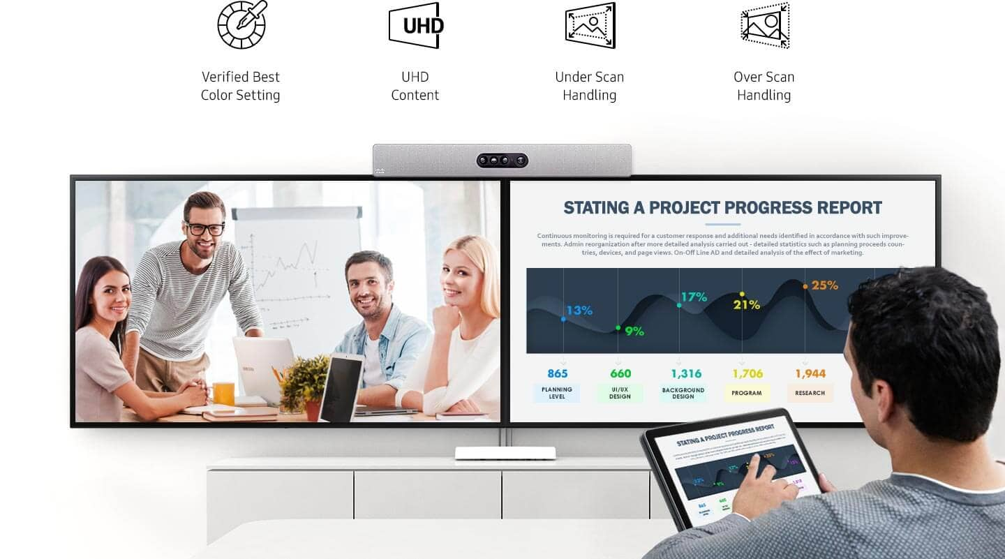 Samsung Cisco video conference solution | Industry Solutions